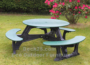 Maintenance Free Outdoor Furniture park table