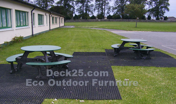 Eco Outdoor Furniture Picnic Table