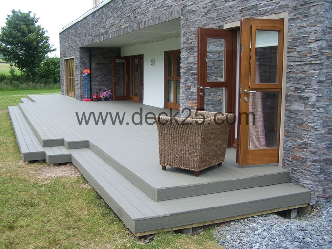 contemporary decking ideas